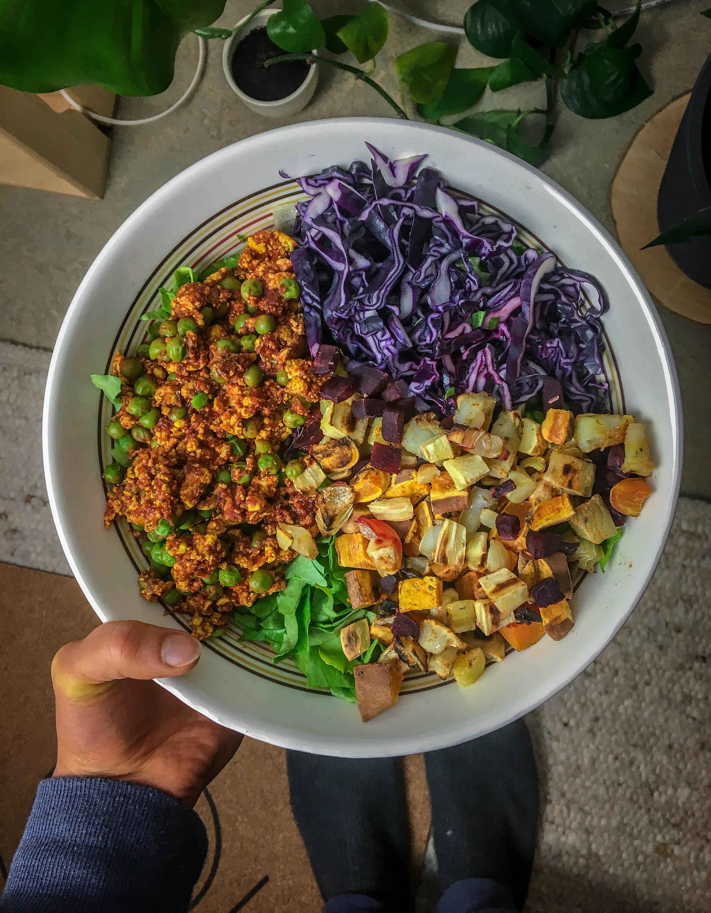 Vegane Bowl Rezept