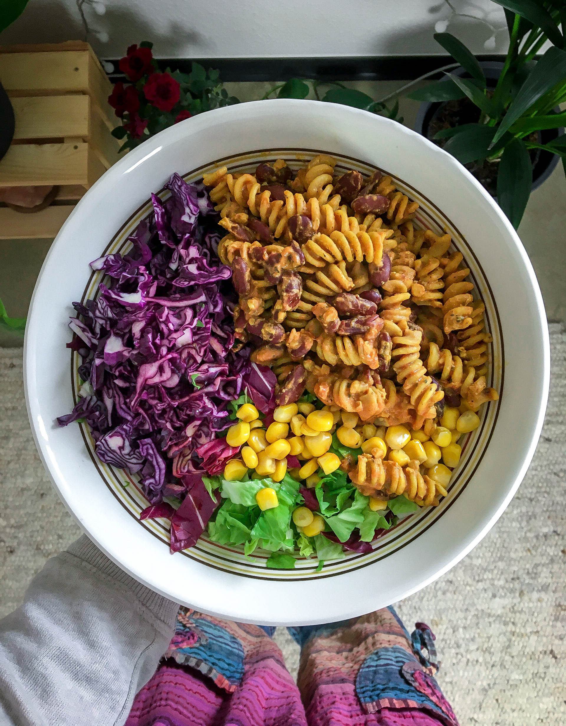 Bunte Buddha-Bowl Rezept