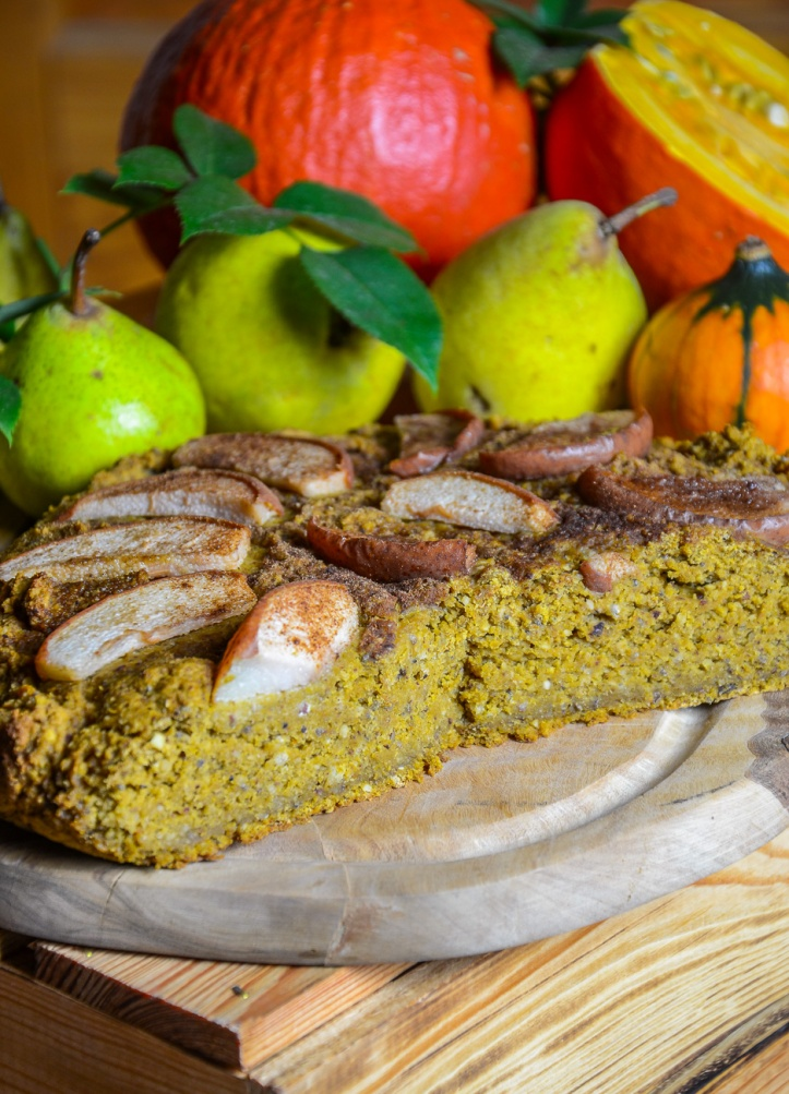 Veganer Kürbiskuchen