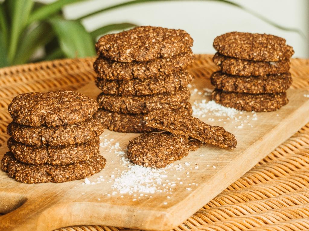 Schnelle, vegane Schoko-Cookies