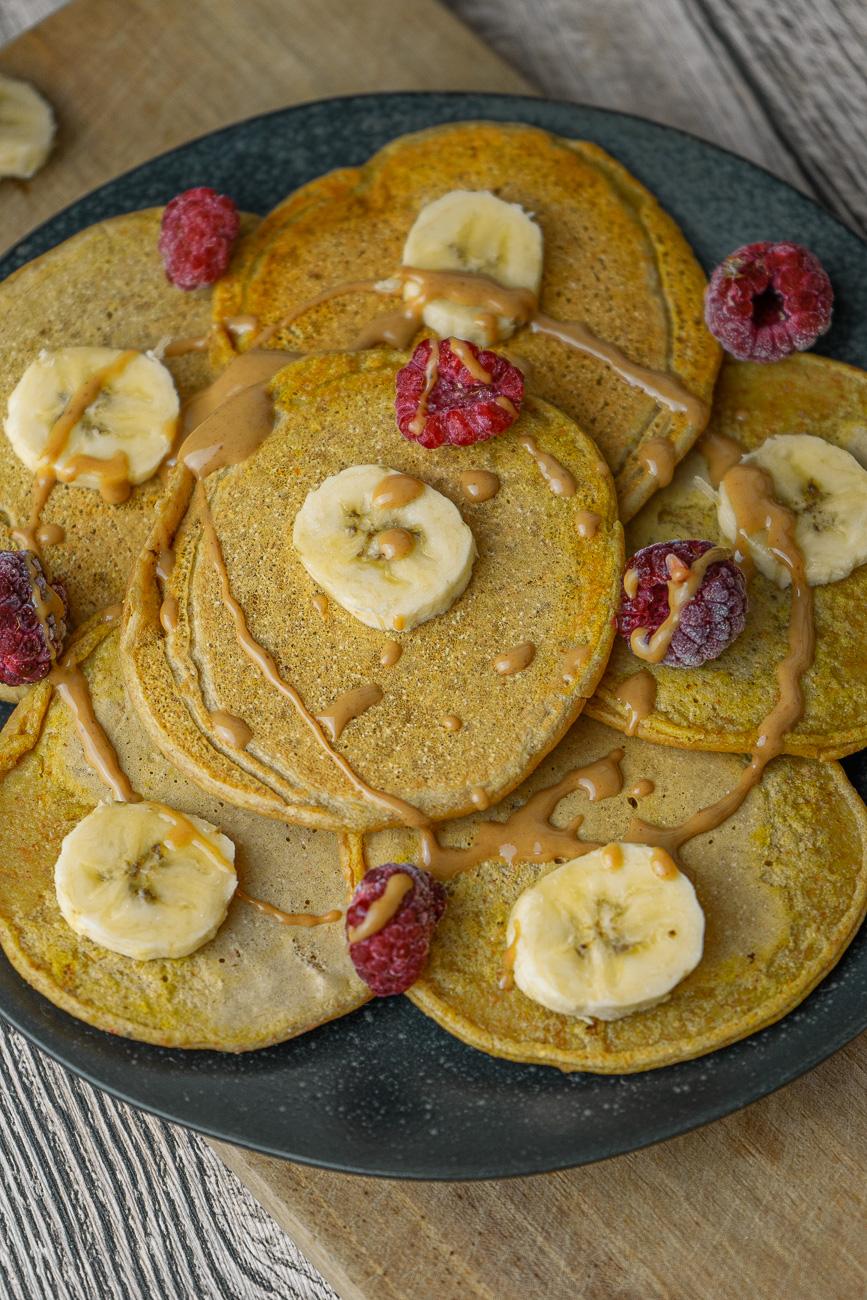 Vegane Pancakes - einfaches & schnelles Rezept