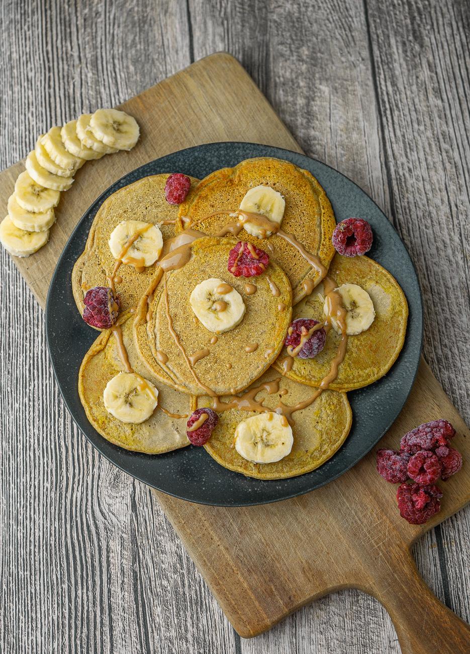 Vegane Protein-Pancakes Rezept