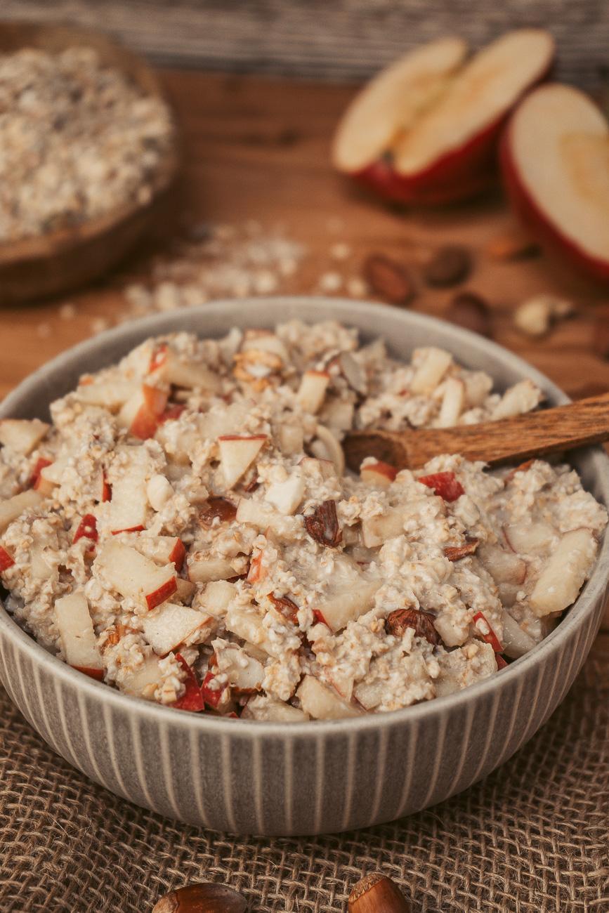 Veganes, gesundes Bircher Müsli Rezept