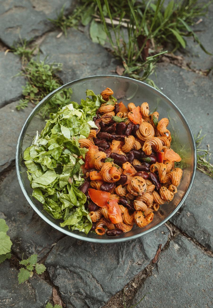 Vegane Nudel-Bowl Rezept