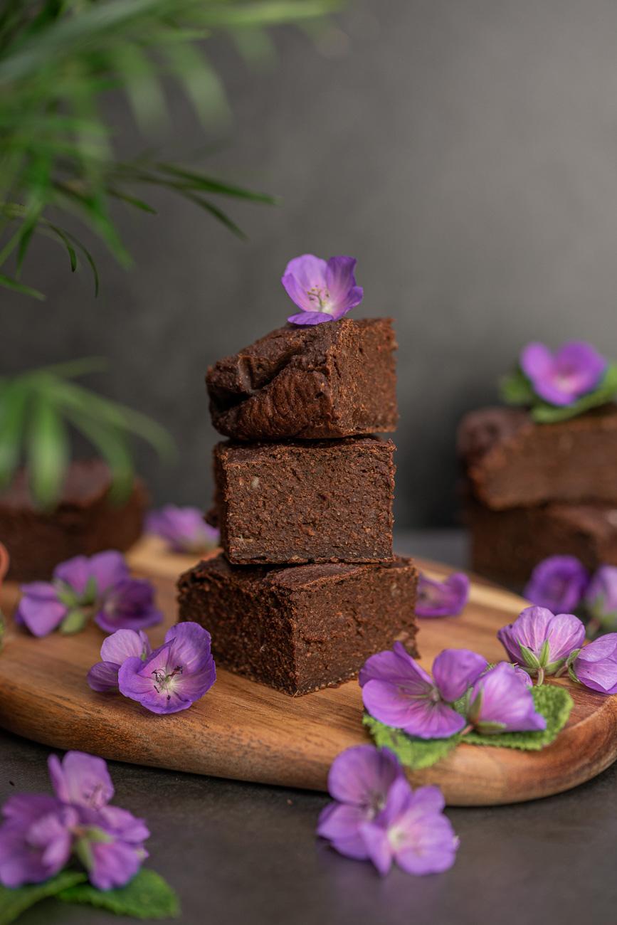 Zuccchini-Brownies Rezept