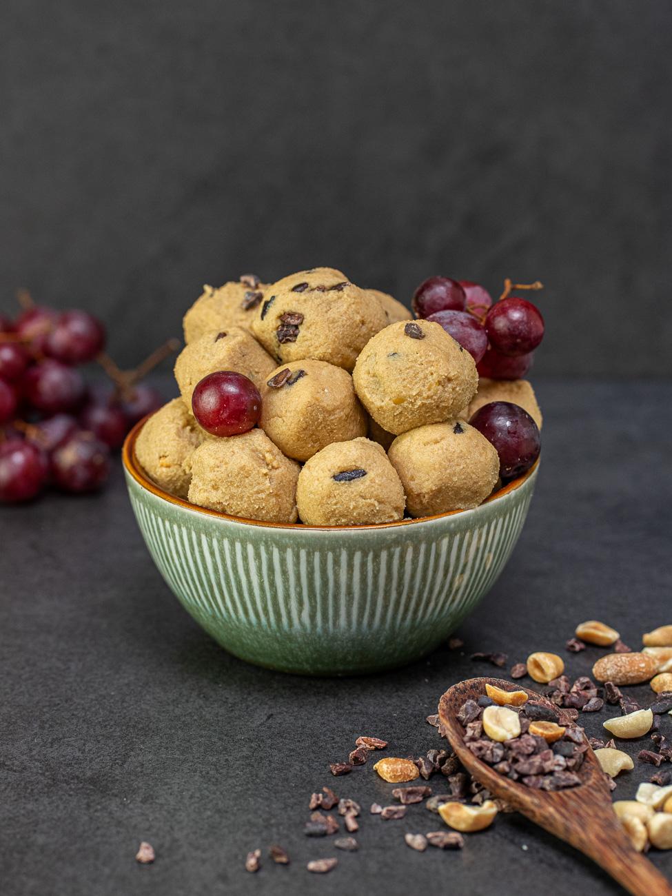Veganer, gesunder Keksteig Rezept