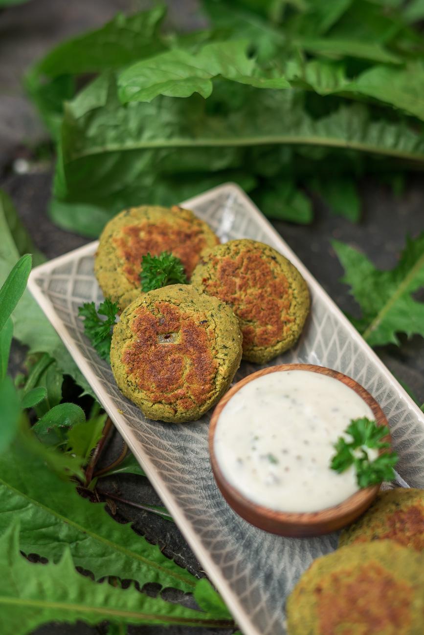 Vegane Kräuter-Falafel selber machen