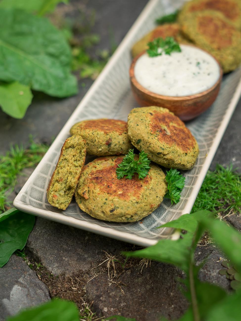 Kräuter-Falafel Rezept - vegan & glutenfrei