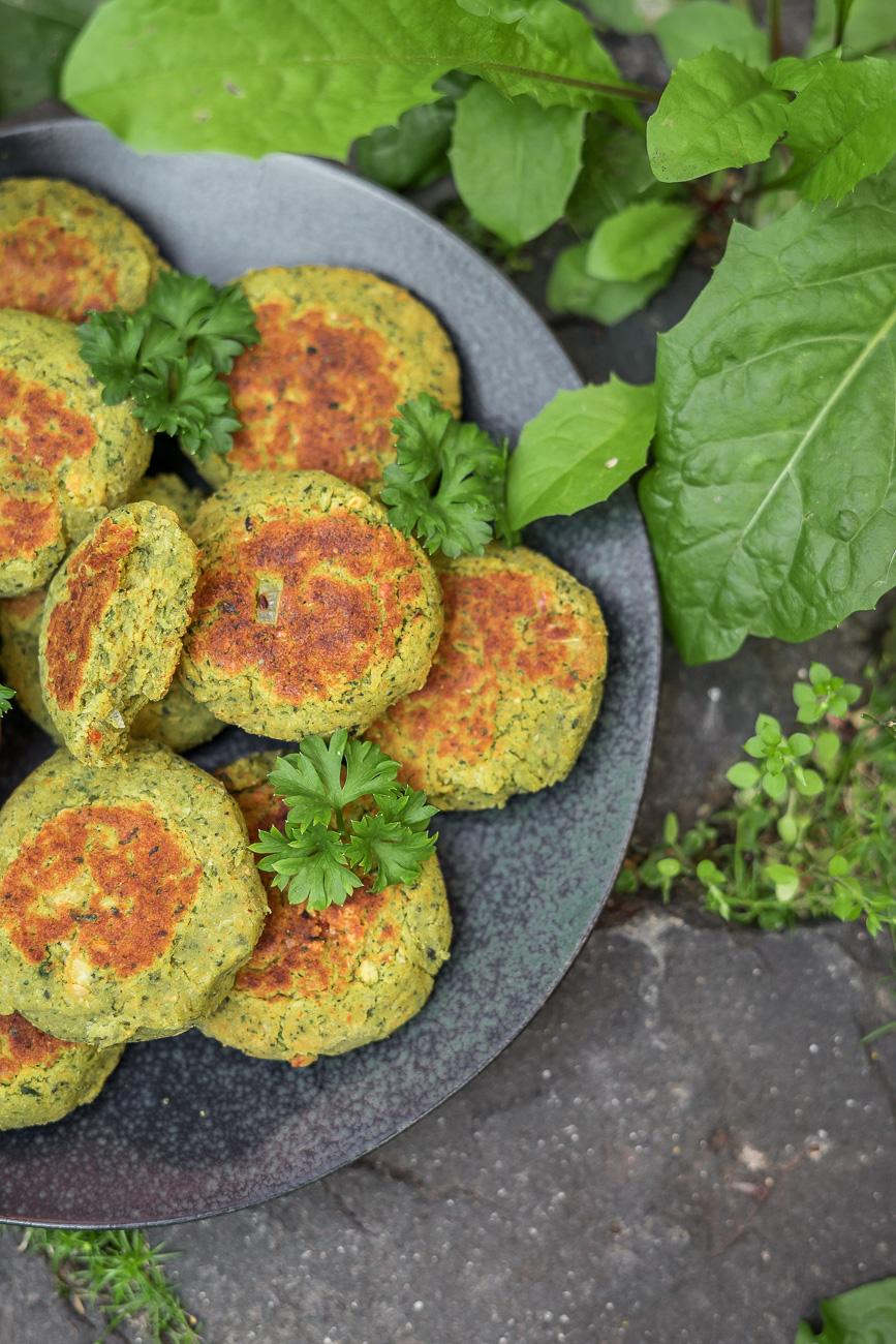 Vegane Falafel Rezept - schnell & einfach